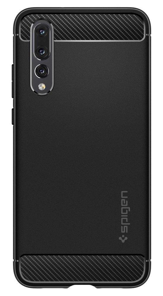 Huawei P20 Pro Spigen Rugged Armor Case - Black