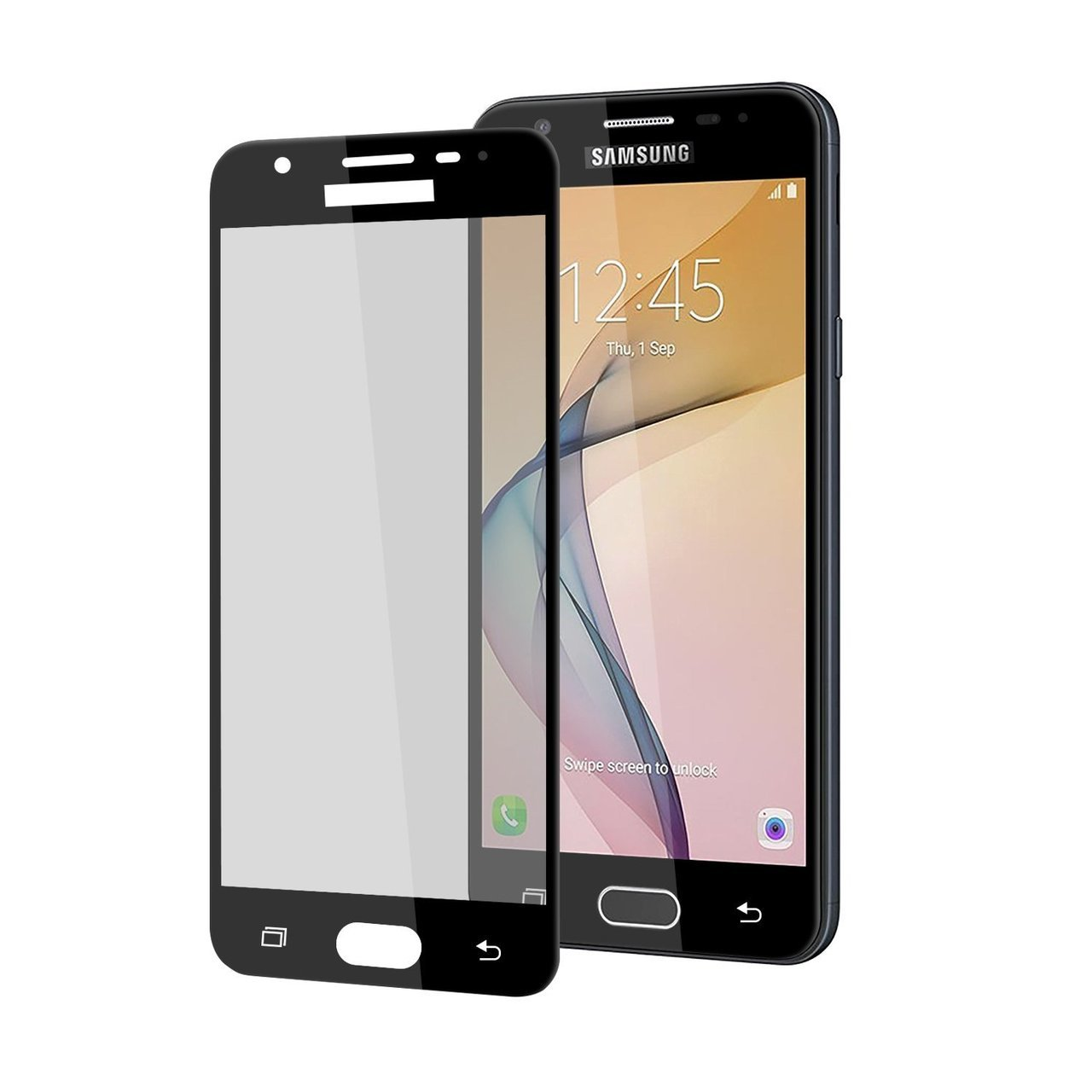 Mocolo Samsung Galaxy J5 Prime Edge to Edge Tempered Glass - Black