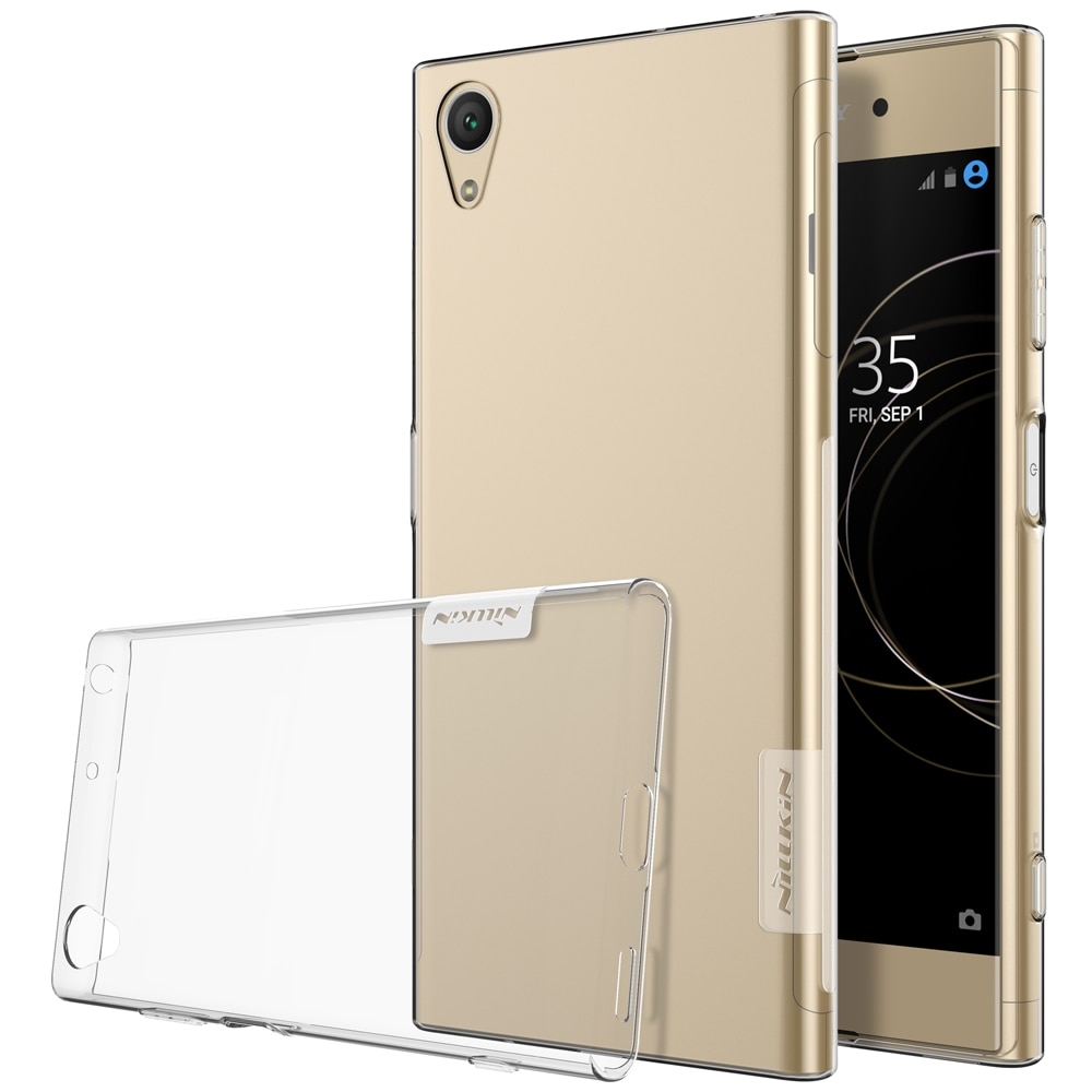 Sony Xperia XA1 Plus Premium Silicon Cover - Transparent
