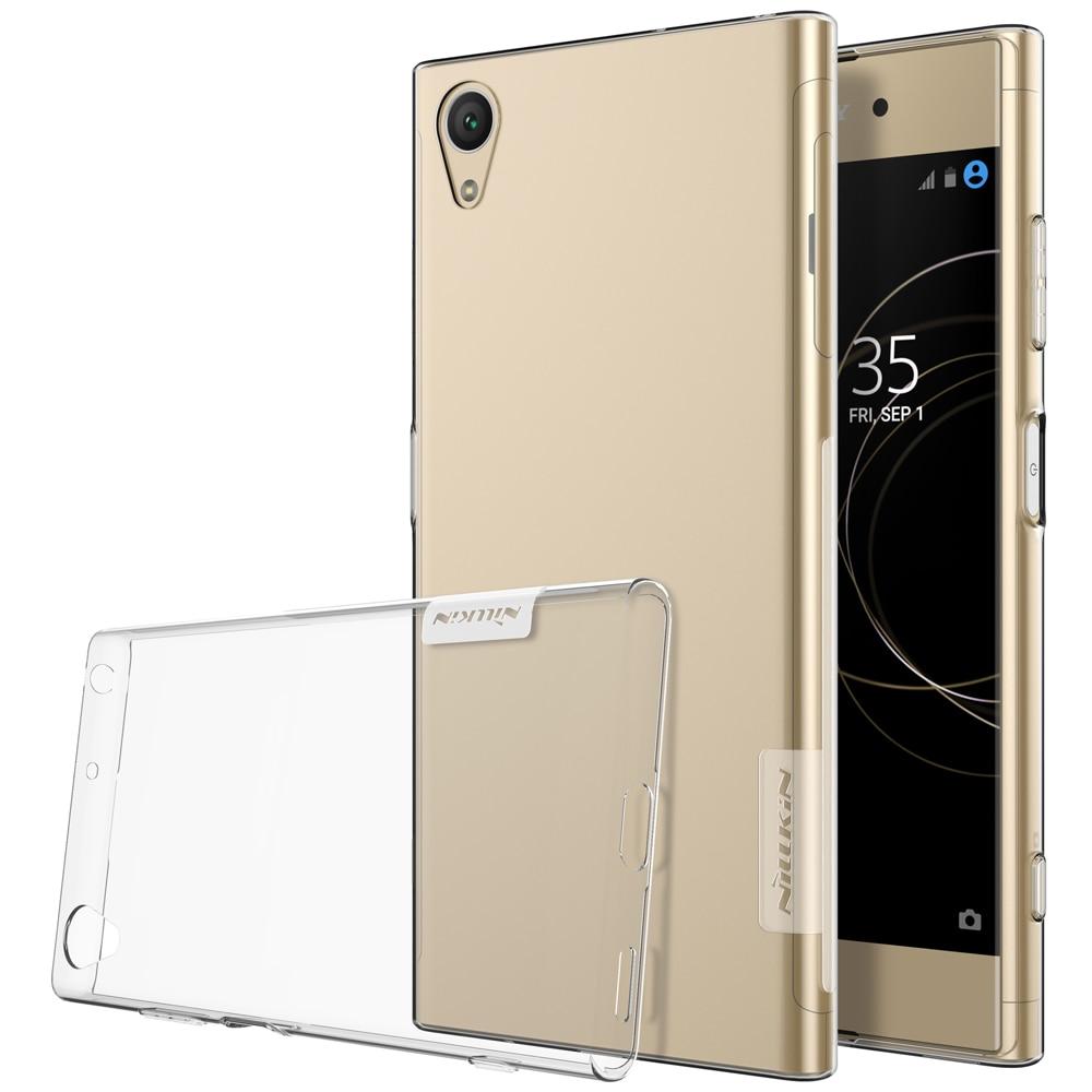 Sony Xperia XA1 Plus Premium Silicon Cover - Transparent