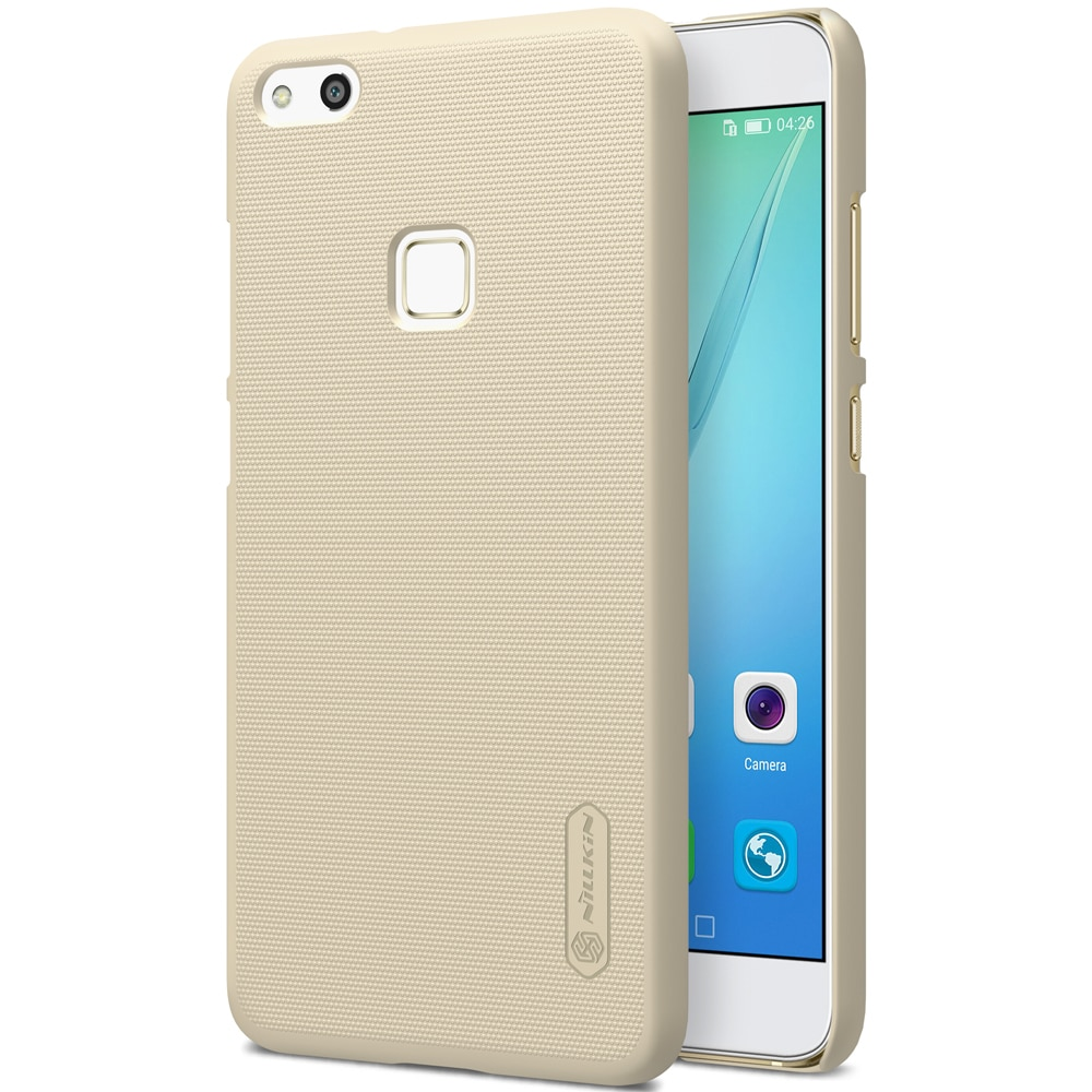 Huawei P10 Lite Frosted Shield Hard Back Cover by Nillkin - Gold