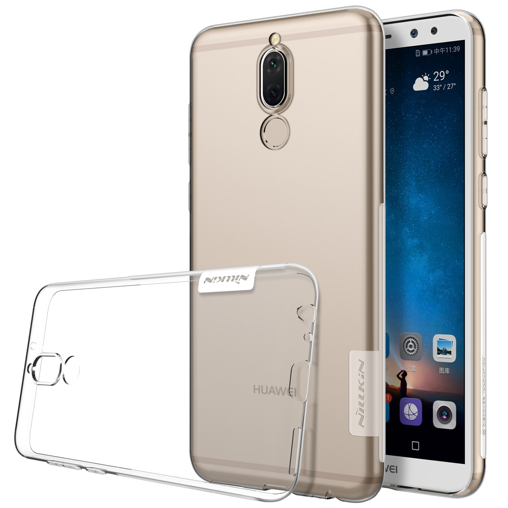 Huawei Mate 10 Lite Premium Silicon Cover - Transparent