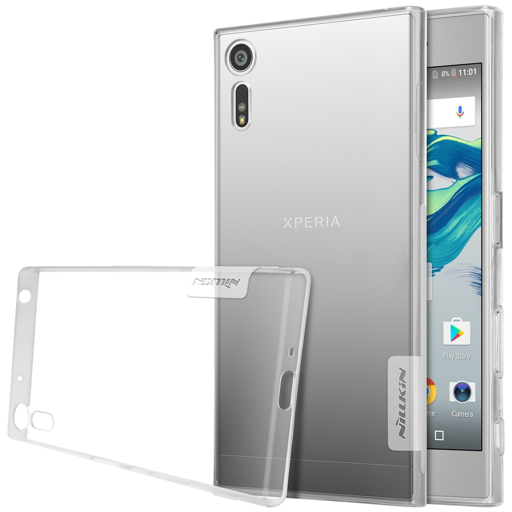 Sony Xperia XZ Silicon Cover by Nillkin - Transparent