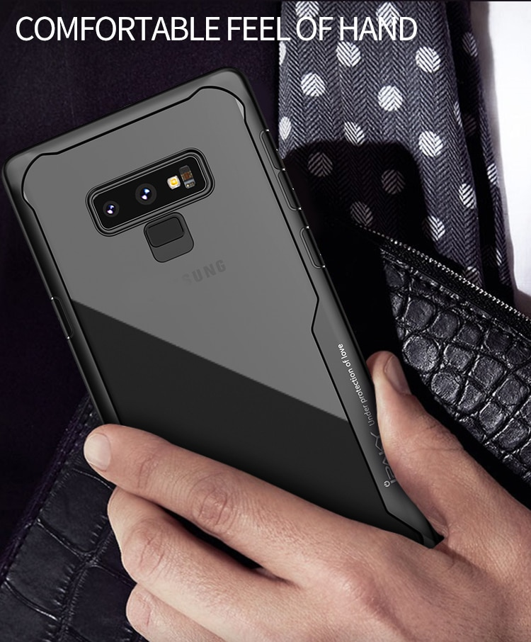 Galaxy Note 9 Survival Series Tough Anti Scratch Case by iPaky - Black
