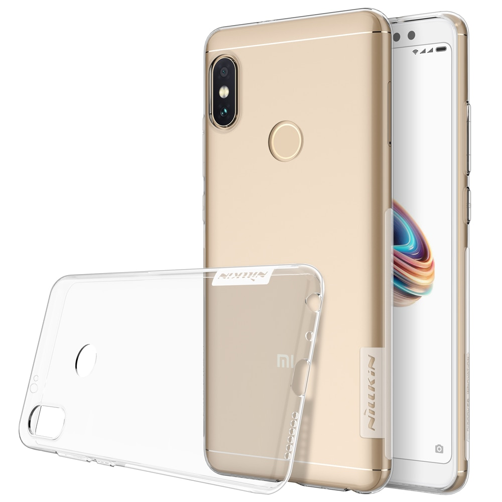 Redmi Note 5 / Redmi Note 5 PRO Premium Silicon Cover by Nillkin - Transparent
