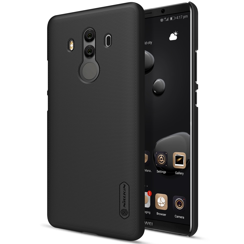 Huawei Mate 10 Pro Frosted Shield Hard Back Cover by Nillkin - Black