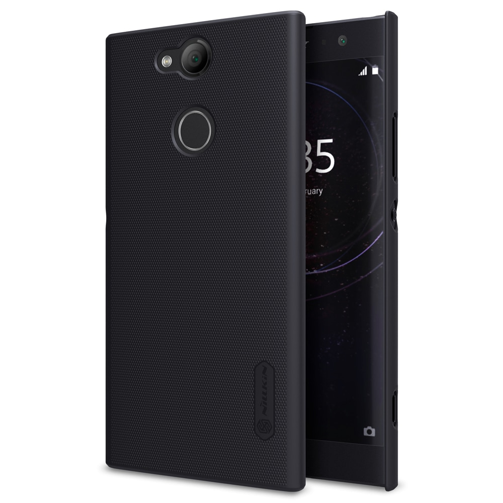 Sony Xperia XA2 Frosted Shield Hard Back Cover by Nillkin - Black