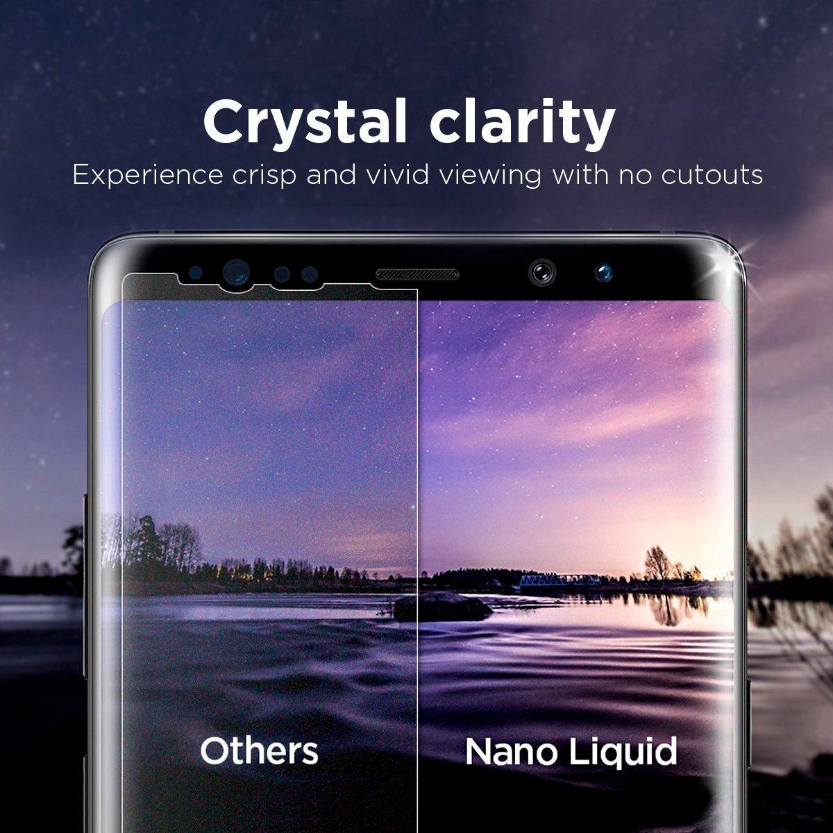 Spigen Glas.tr Nano Liquid Universal Screen Protection - Clear