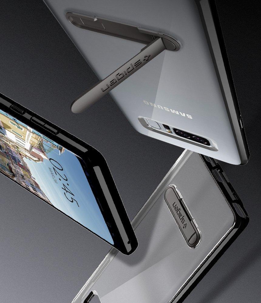 Samsung Galaxy Note 8 Spigen Ultra Hybrid S Case - Midnight Black