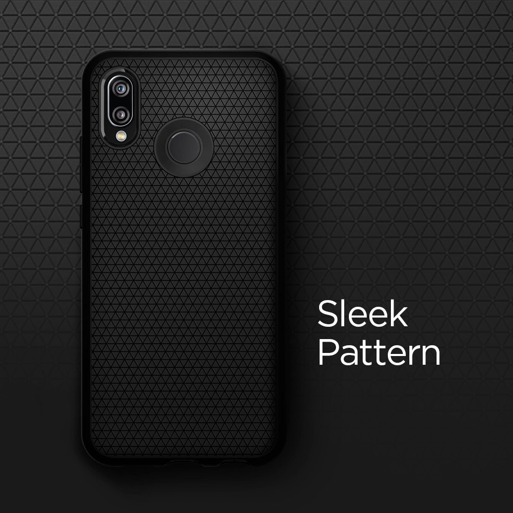 Huawei P20 Lite Spigen Liquid Air Case - Black