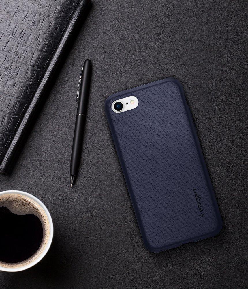 Apple iPhone 8 Plus / iPhone 7 Plus Spigen Liquid Air Case - Midnight Blue
