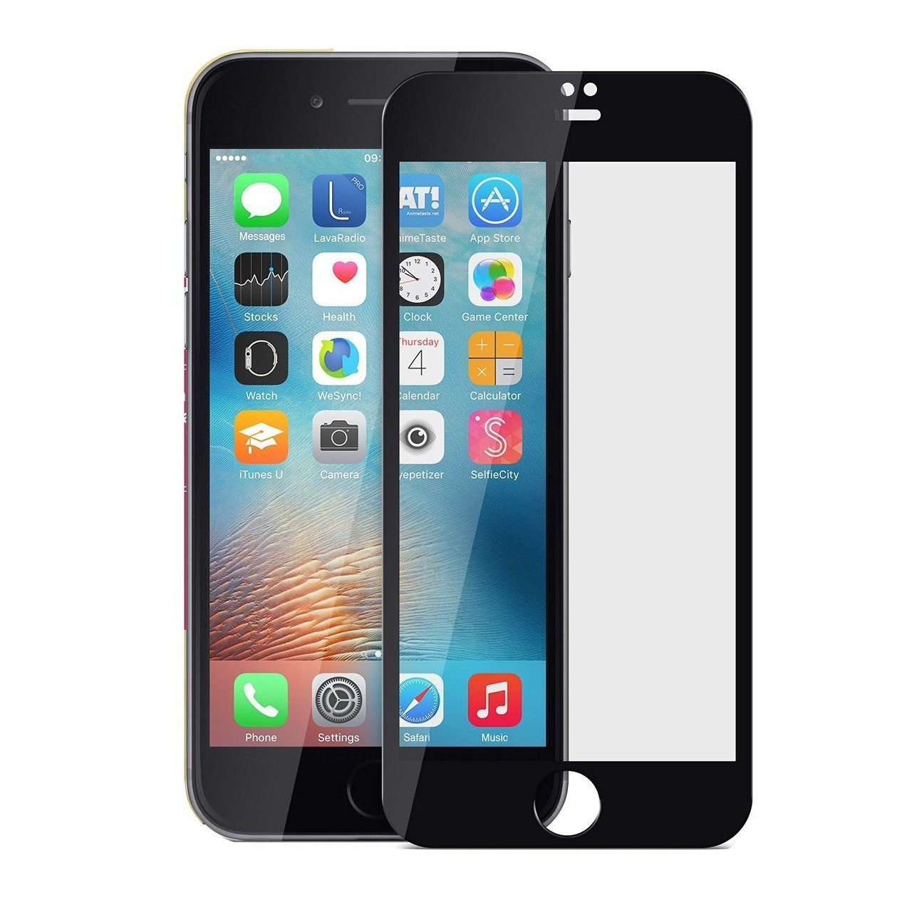 Mocolo iPhone 7 Plus Edge to Edge Tempered Glass - Black