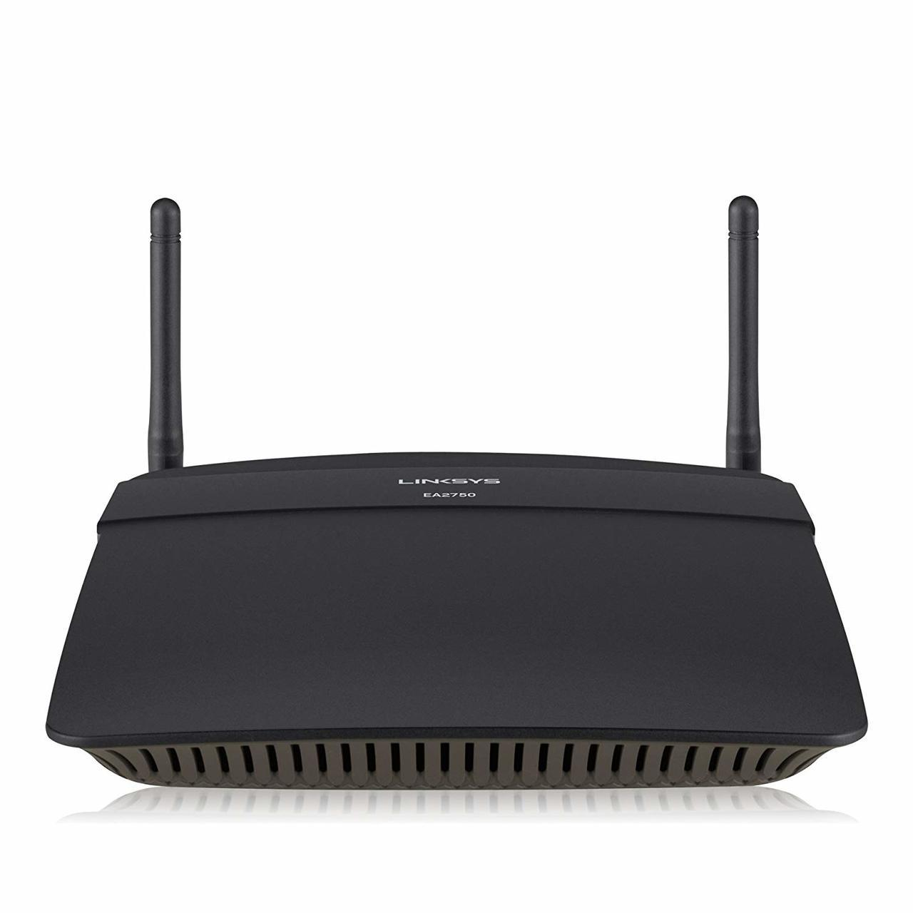 Linksys EA2750 N600 Wi-Fi Wireless Dual-Band+ Router with Gigabit Ports