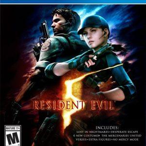 Resident Evil 5 Standard Edition For PlayStation 4  - Capcom