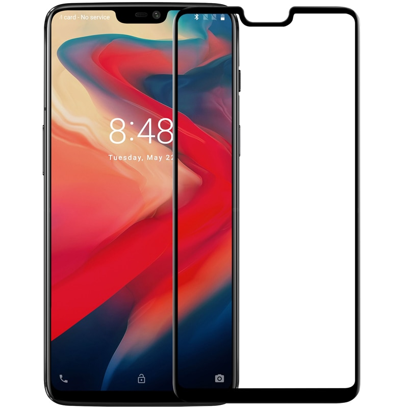 OnePlus 6 Nillkin Full Coverage 3D CP+ MAX Tempered Anti-Explosion Protector