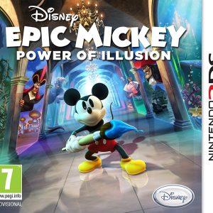 Disney Epic Mickey: Power of Illusion - Nintendo 3ds