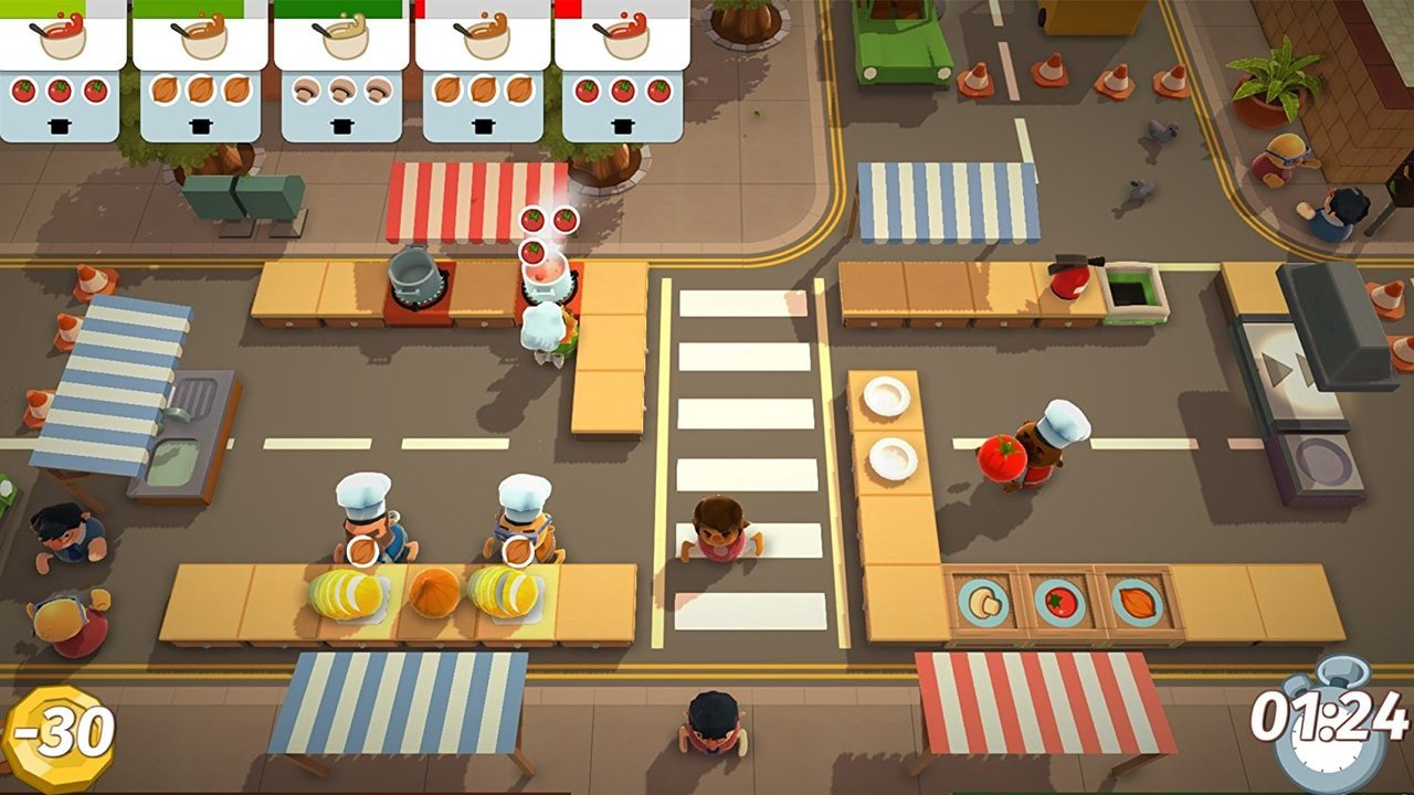 Overcooked: Gourmet Edition For PlayStation 4  - Team 17