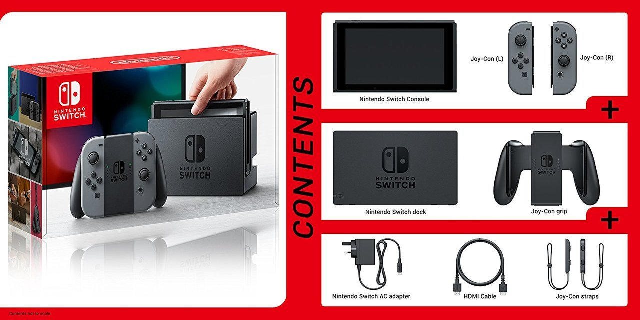 Nintendo Switch™ Console - Gray Joy Con