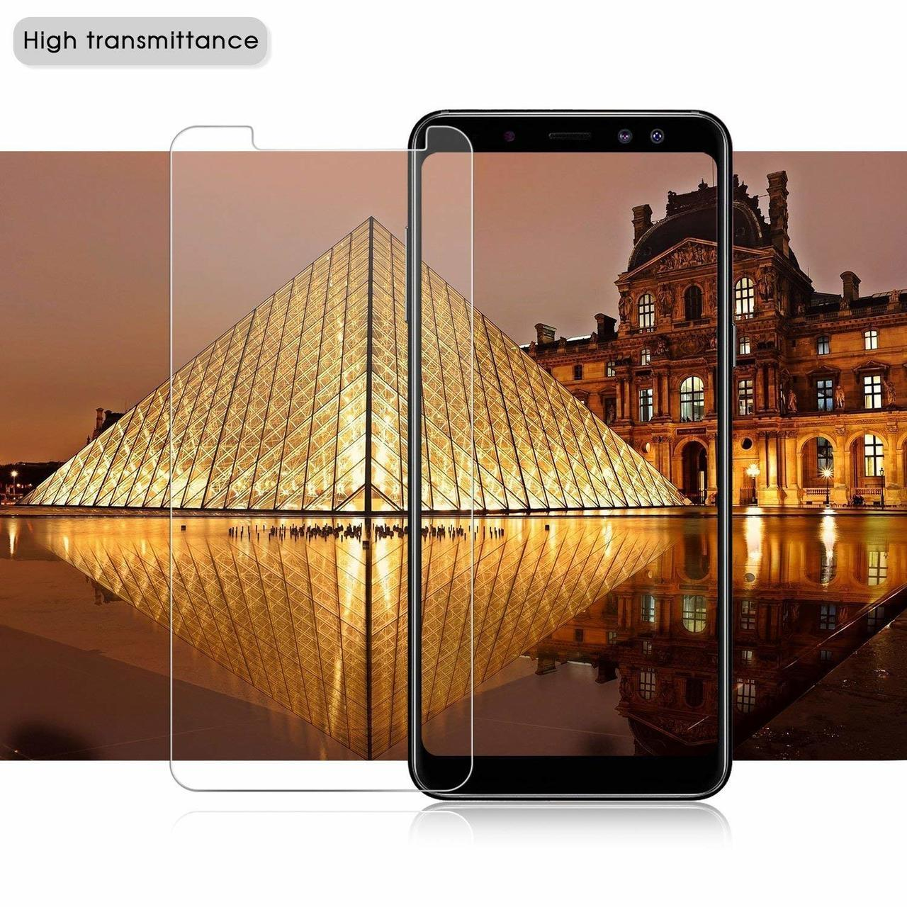 Mi 8 TPU Transparent Case + Tempered glass in 1 pack by iPaky - Transparent