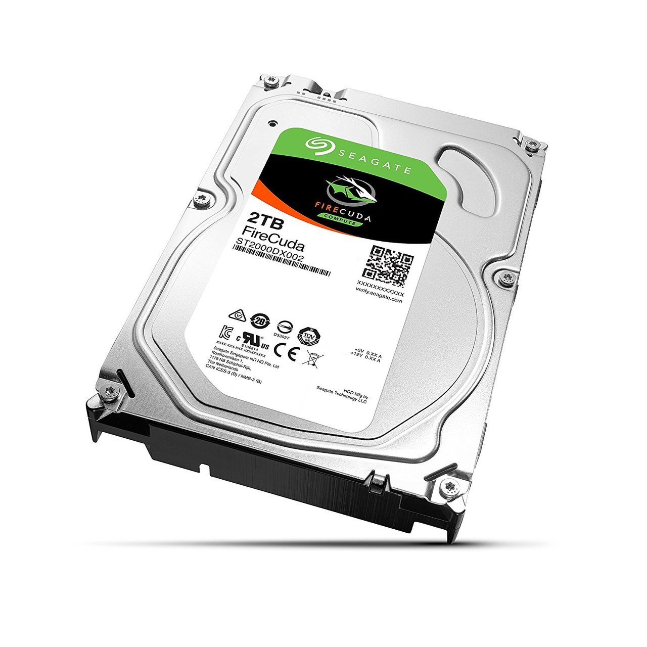 SEAGATE 2TB DESKTOP SOLID STATE HYBRID DRIVE 64MB CACHE 7200 RPM  (ST2000DX002)