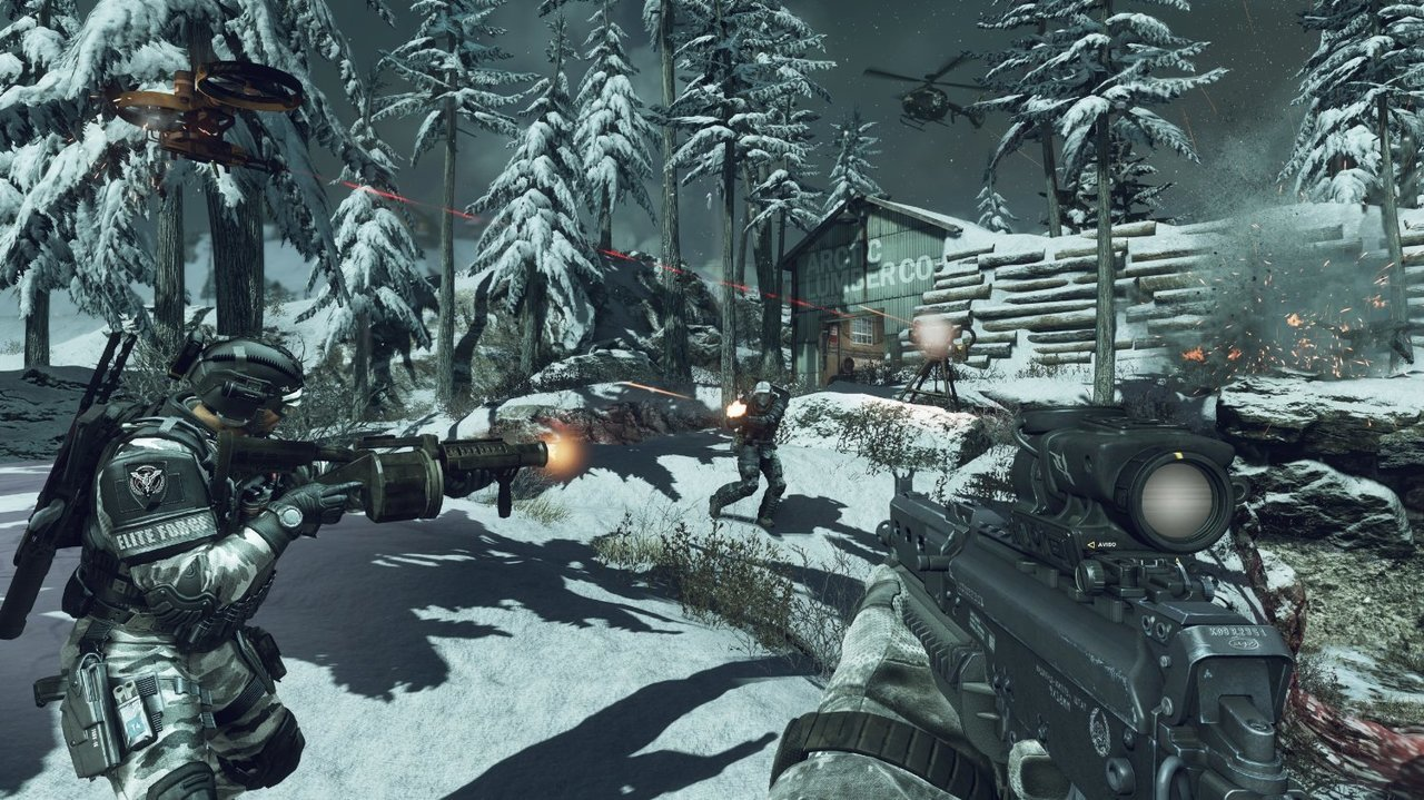 Call Of Duty: Ghost  For PlayStation 4 - Sony