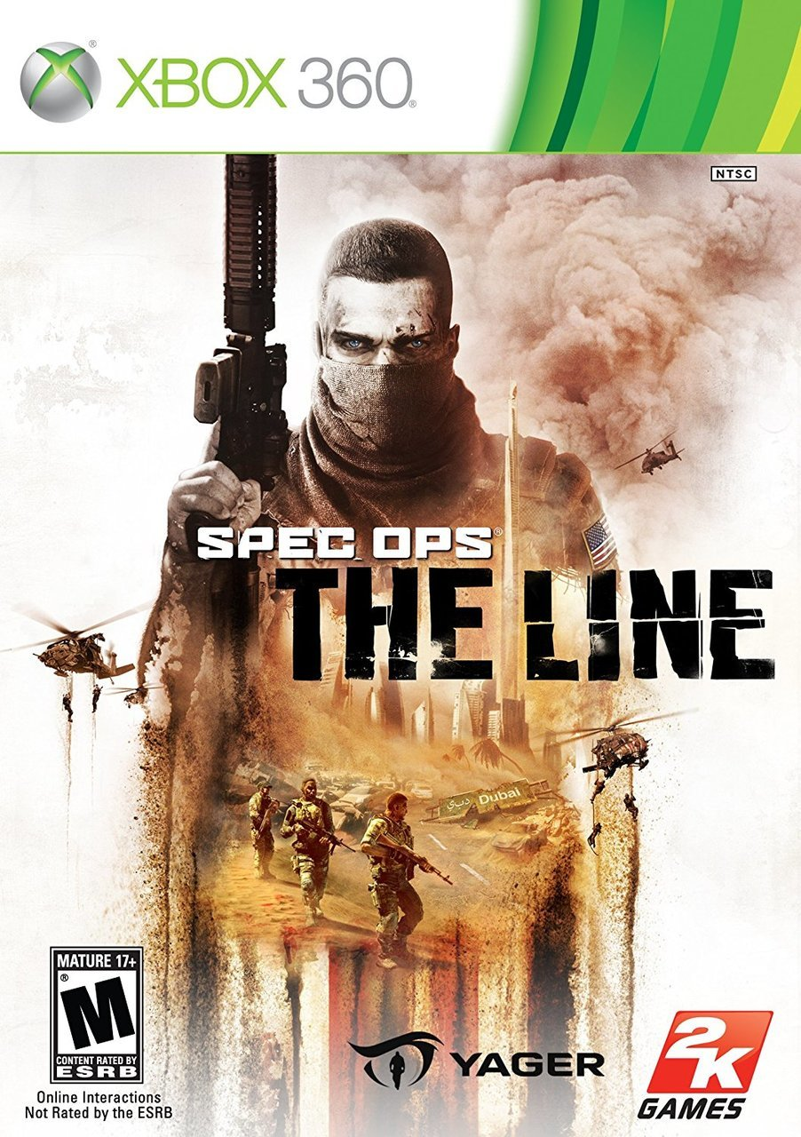 Spec Ops: The Line  For Xbox 360  - Microsoft