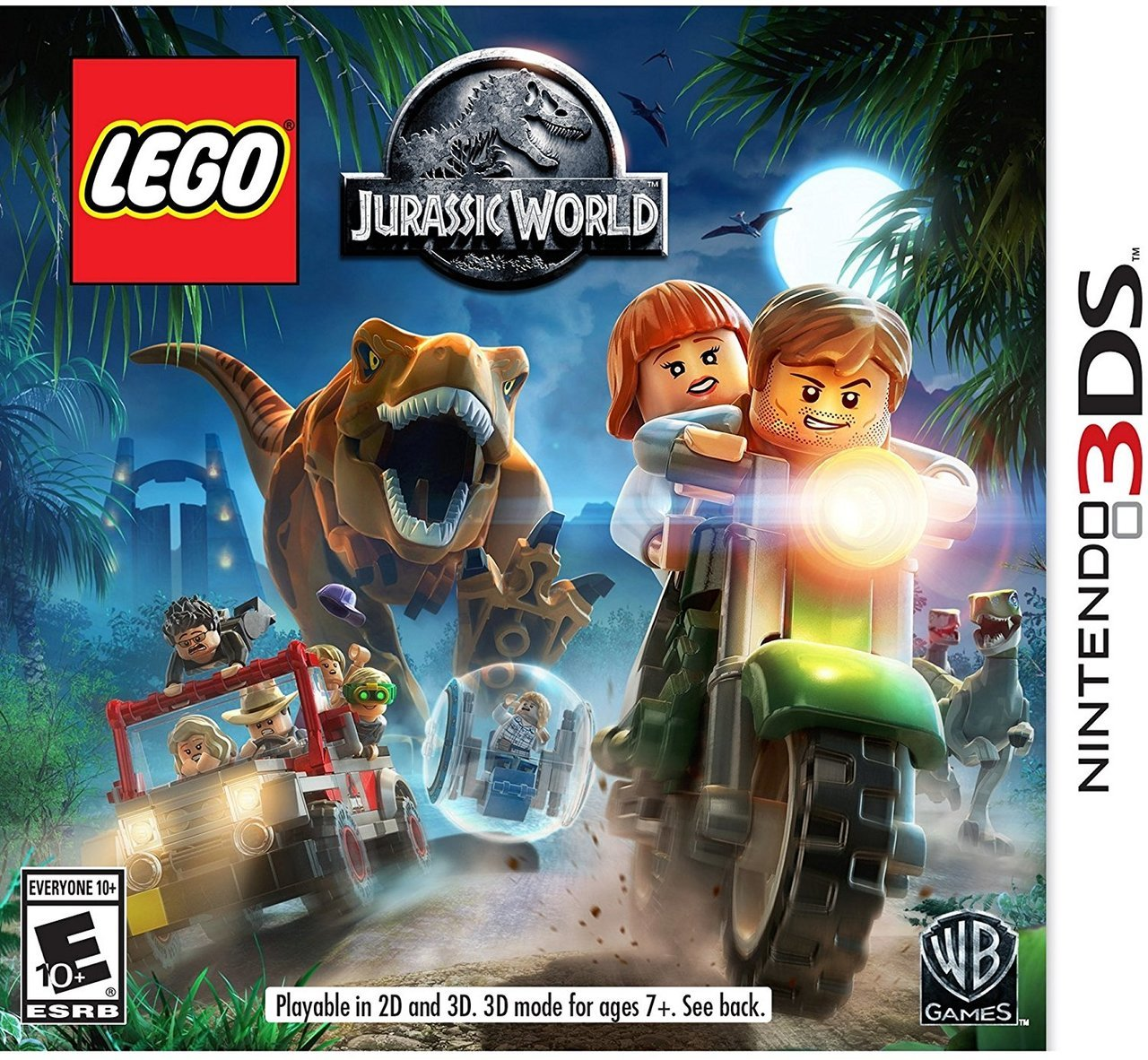 LEGO Jurassic World  Nintendo 3DS -  Warner Bros