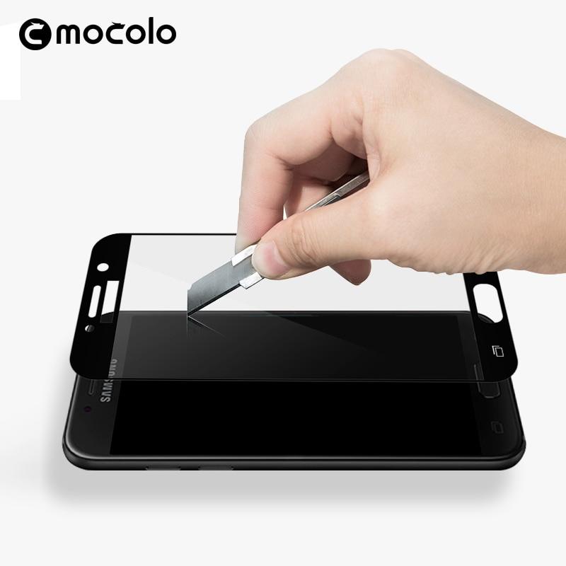 Mocolo Samsung Galaxy A7 2017 Edge to Edge Tempered Glass - Black