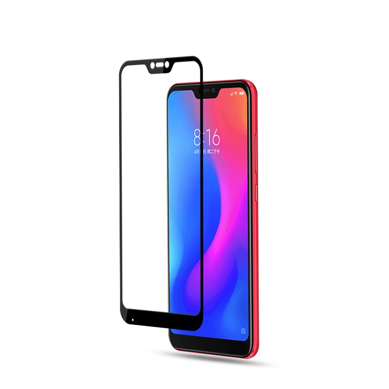 Mocolo Mi A2 Lite /  Redmi 6 Pro Edge to Edge Tempered Glass - Black