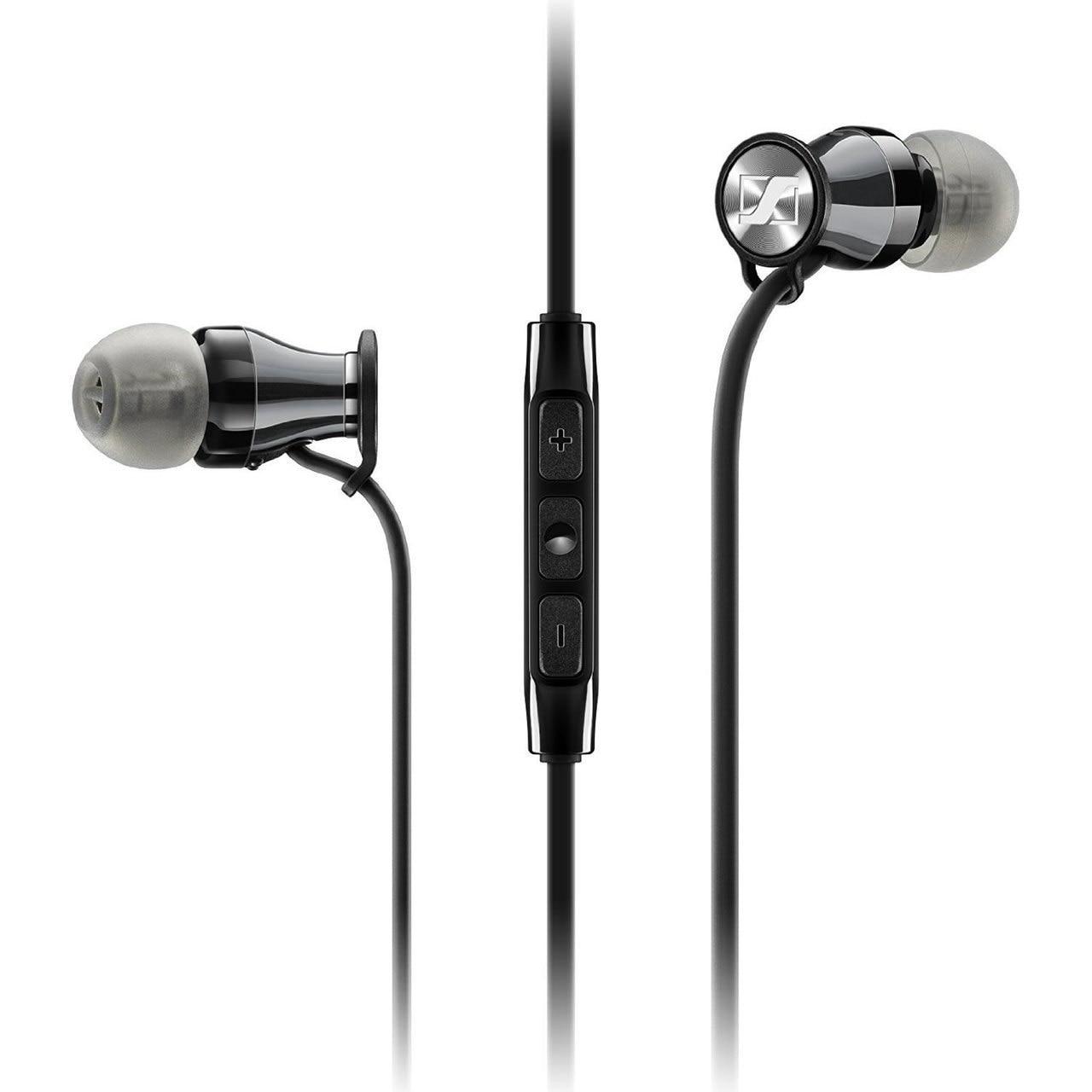 Sennheiser In-Ear Earphones for Galaxy - Momentum M2 IEI for iOS - Black