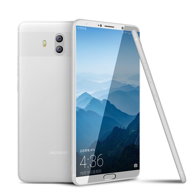 Huawei Mate 10 Cafele Soft Matte TPU Case - White