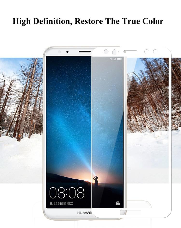 Mocolo Huawei Mate 10 Lite 3D Edge to Edge Tempered Glass - Black