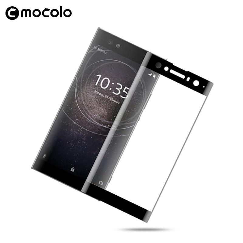 Mocolo Sony Xperia XA2 Ultra 3D Edge to Edge Tempered Glass - Black