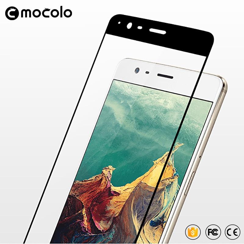 Mocolo OnePlus 3 / 3T Edge to Edge Tempered Glass - Black