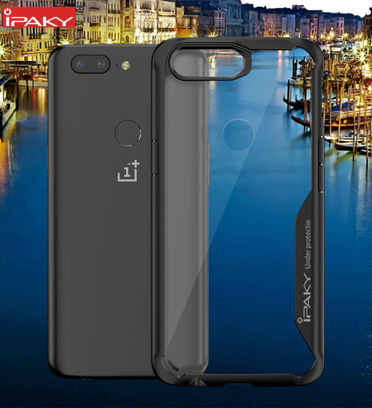 OnePlus 5T Survival Series Tough Anti Scratch Case by iPaky - Black