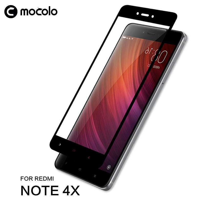 Mocolo Xiaomi Redmi Note 4 ( Pakistani Variant ) Edge to Edge Tempered Glass