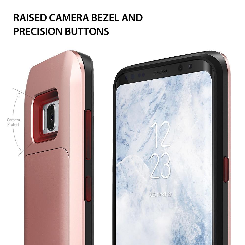 Samsung Galaxy S8 Plus Ringke Access Wallet Card Holder Case - Gloss Black