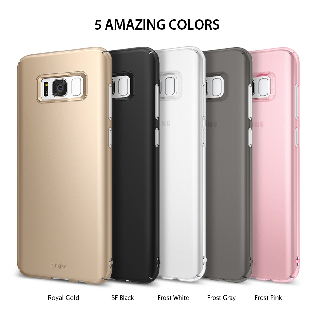 Galaxy S8 Ringke Slim Hard Back Cover - Gold