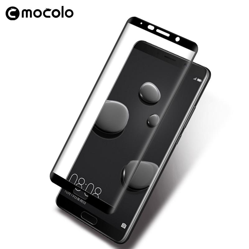 Mocolo Huawei Mate 10 3D Edge to Edge Tempered Glass - Black