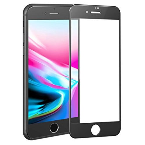 Mocolo iPhone 8 Plus Edge to Edge Tempered Glass - Black