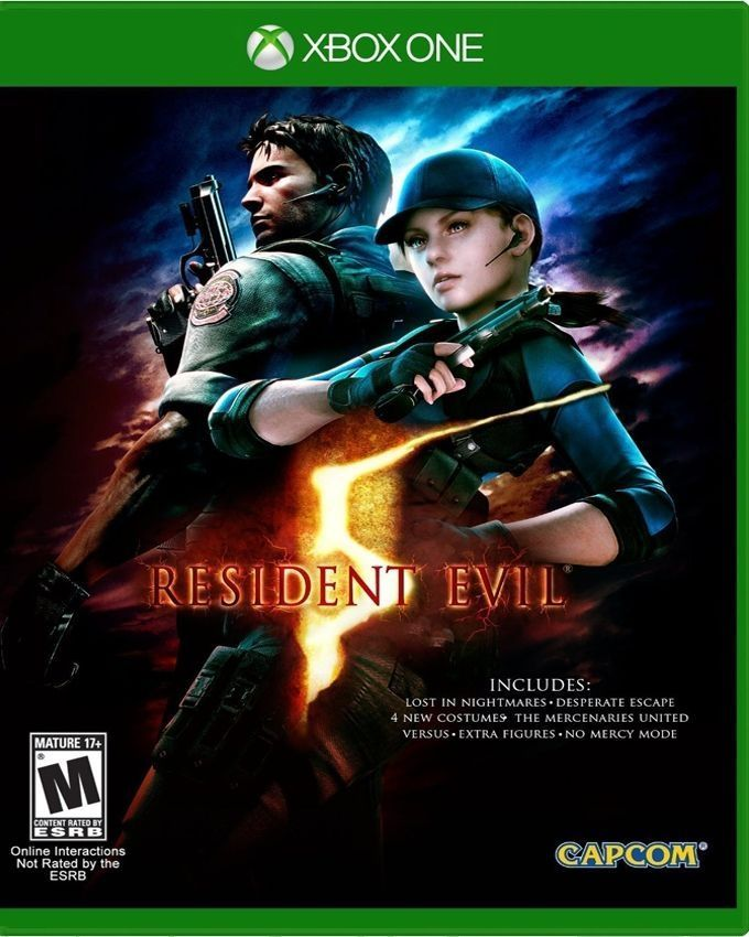 Resident Evil 5 HD For  Xbox One  - Capcom