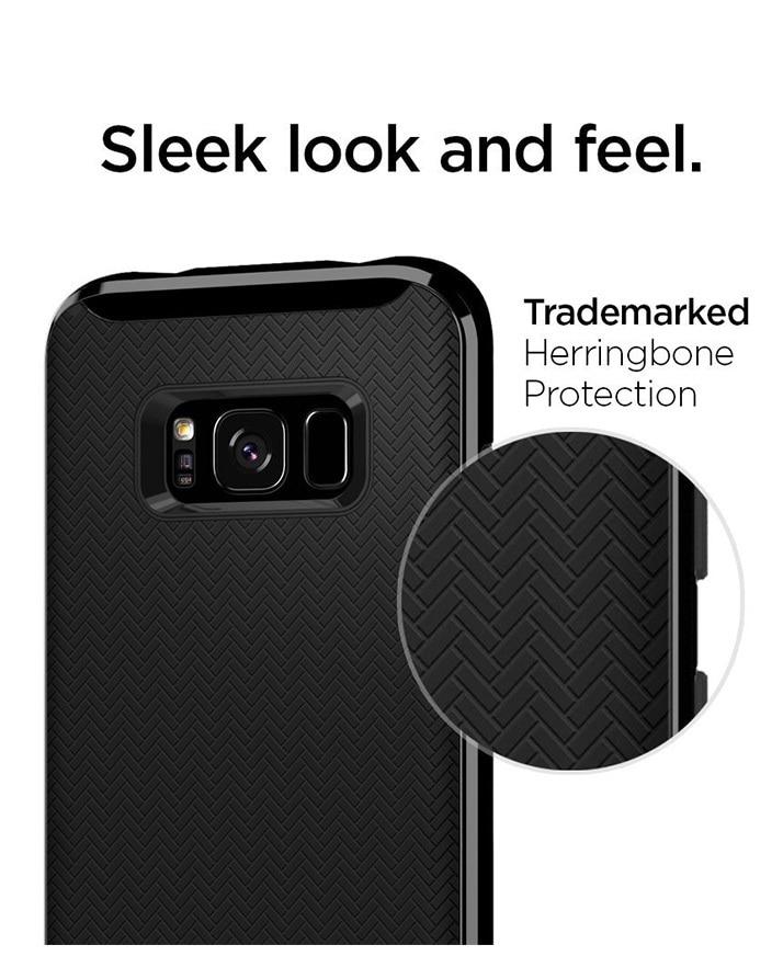 Galaxy S8 Plus Spigen Neo Hybrid Dual Layer Case - Shiny Black