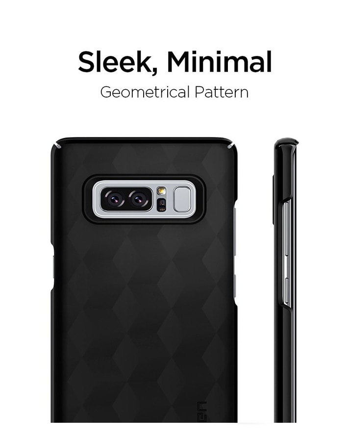 Galaxy Note 8 Original Spigen Original Thin Fit - Matte Black