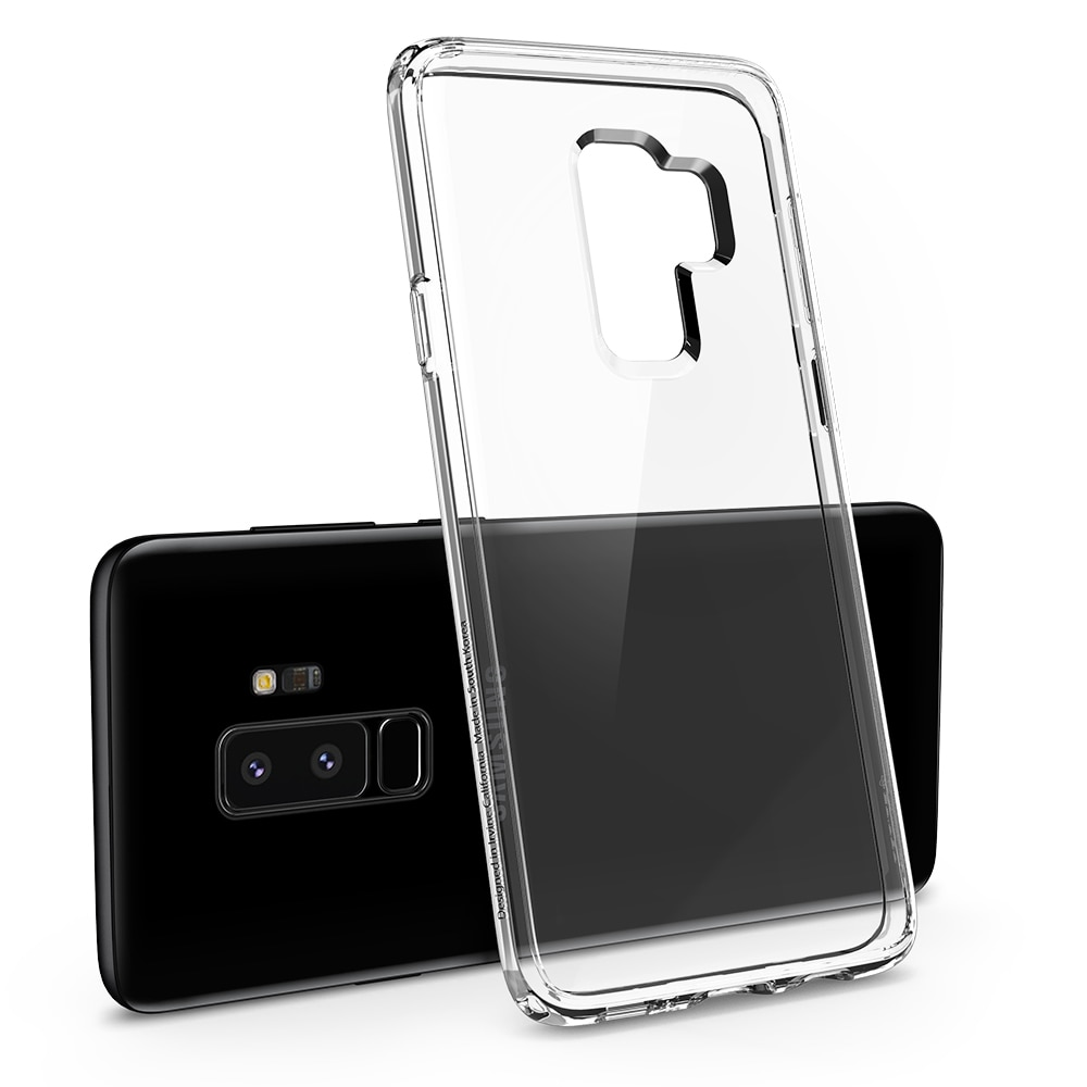 Samsung Galaxy S9 Plus Spigen Original Ultra Hybrid Case - Crystal Clear