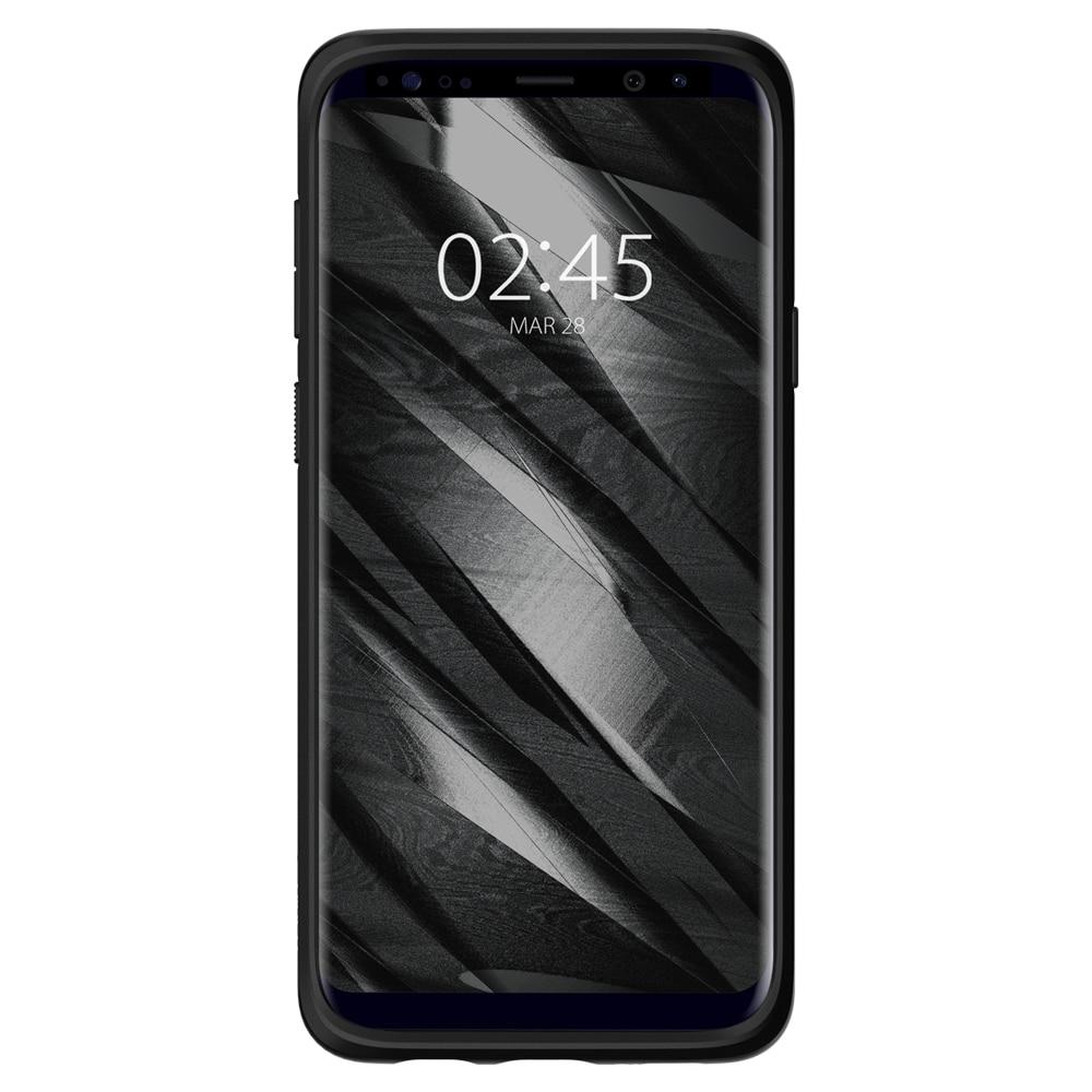 Samsung Galaxy S9 Plus Spigen Original Liquid Air Soft Case - Matte Black