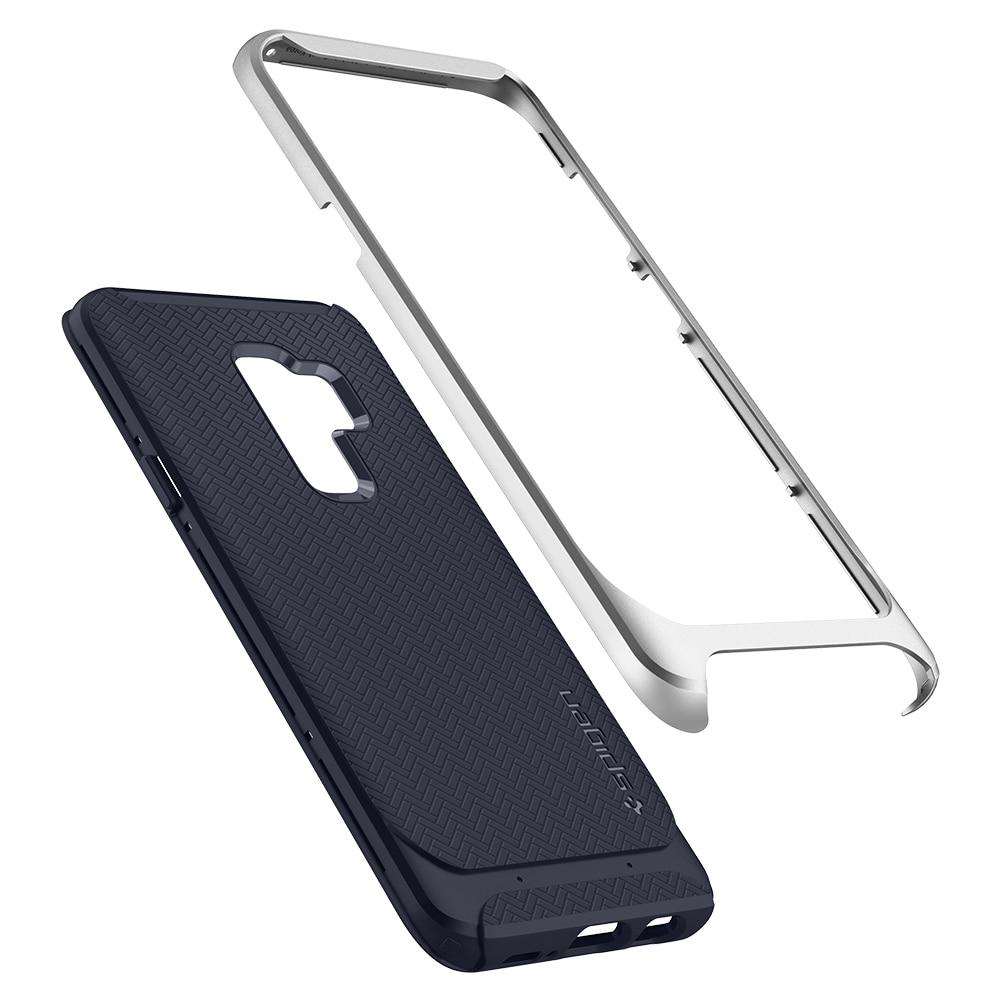 Samsung Galaxy S9 Plus Spigen Original Neo Hybrid Dual Layer Case - Arctic Silver