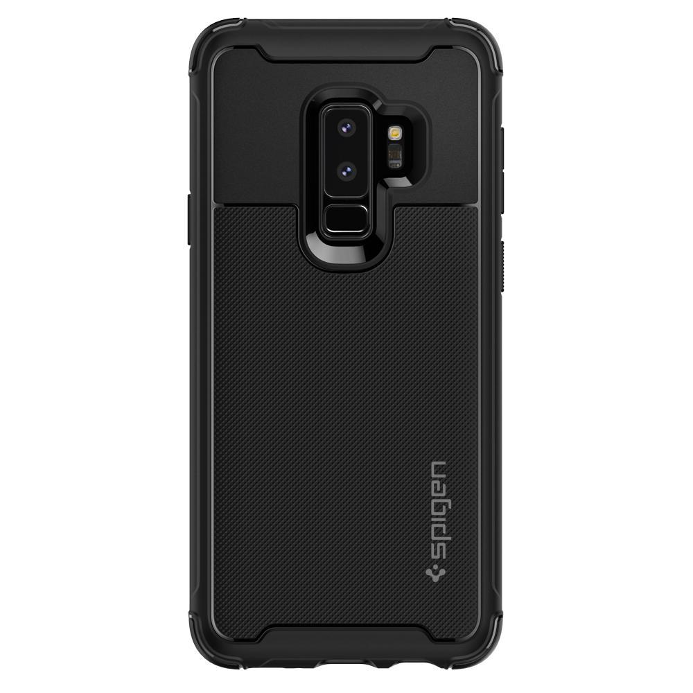 Samsung Galaxy S9 Plus Spigen Rugged Armor Urban Soft Case - Matte Black