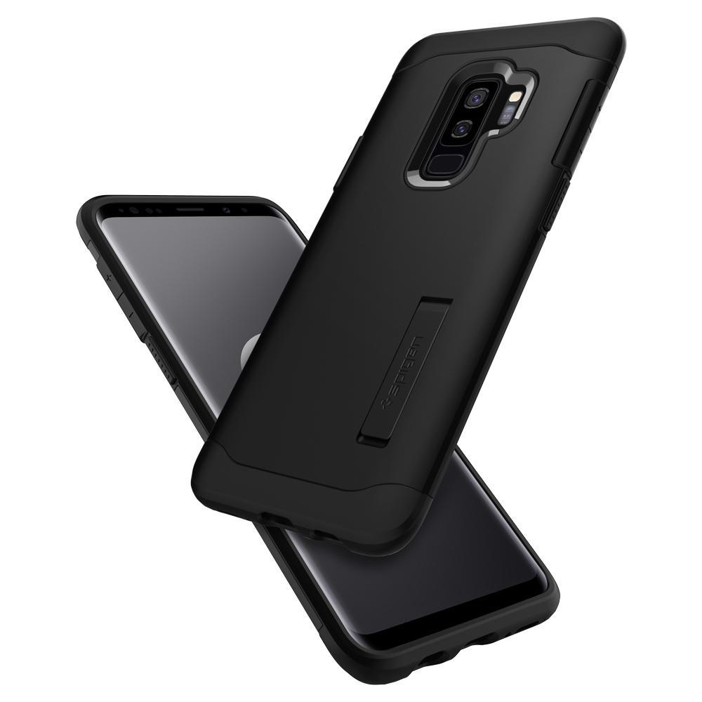 Samsung Galaxy S9 Plus Spigen Slim Armor Case Black