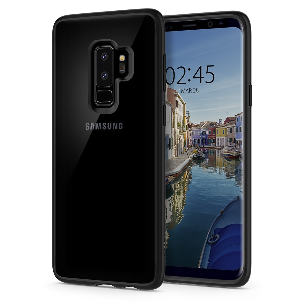 Samsung Galaxy S9 Plus Spigen Original Ultra Hybrid Case - Matte Black