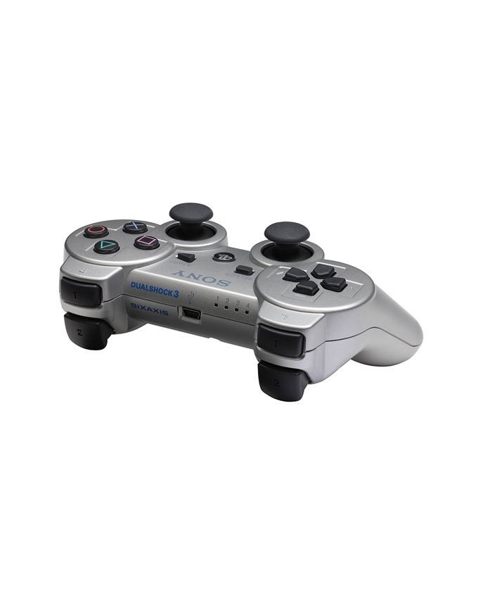 DualShock 3 Wireless Controller for PlayStation 3 Satin Silver - Games Arena